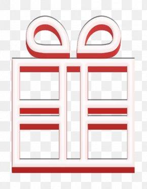 Rectangle X Mas Icon - Birthday Icon Christmas Icon Geburtstag Icon PNG