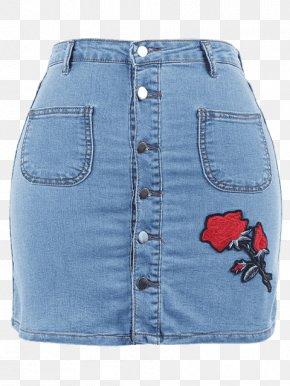 Jeans - Jeans Denim Skirt Fashion PNG