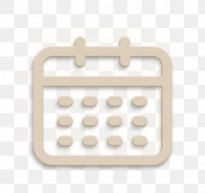 Beige User Icon - App Icon Calendar Icon Interface Icon PNG