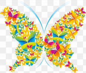 Butterfly - Poster Graphic Design PNG