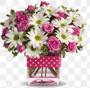 Mothers Day Background Bouquet - Floristry Teleflora Flower Polka Dot PNG