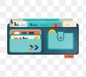 Flat Wallet - Flat Design Graphic Design Illustration PNG