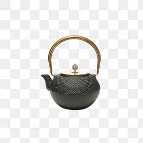 Copper To Copper Cast Iron Pot Lid - Kettle Teapot Metal Kitchen Stove PNG