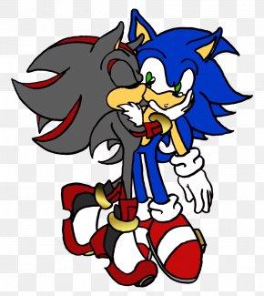 Shy Kiss - Kiss Shadow The Hedgehog DeviantArt PNG