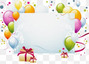 Mural - Birthday Cake Party Christmas Card Convite PNG