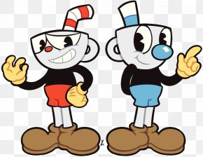 Cuphead Video Game Fan Art Character Clip Art PNG