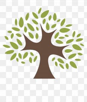 Logo Visual Arts - Green Leaf Tree Plant Font PNG