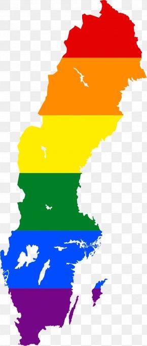 Map - Flag Of Sweden Map National Flag PNG