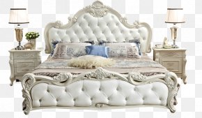 Furniture - Nightstand Bed Furniture Room PNG