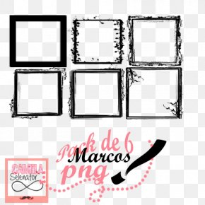 6 Pack - Picture Frames DeviantArt Photography Digital Art PNG
