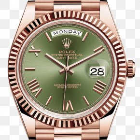 Rolex - Rolex Day-Date Watch Rolex Oyster Gold PNG