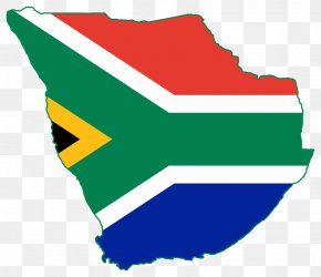South Africa - Flag Of South Africa World Map South African Border War PNG