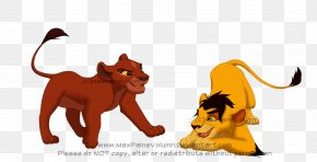 Lion - Lion Ahadi Big Cat PNG