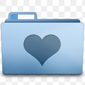 Favorites Folder Heart Icon - Directory Application Software Macintosh Operating Systems PNG