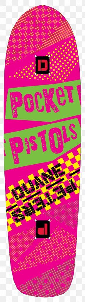 Pocket Pistol - Line Music Point Font Pink M PNG