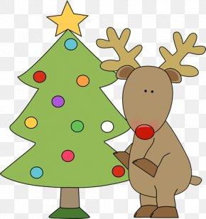 Image Reindeer - Gift Christmas Tree Santa Claus Clip Art PNG
