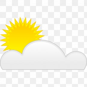 Cloud And Sun Ray Tattoos - Snow Cloud Sunlight Clip Art PNG