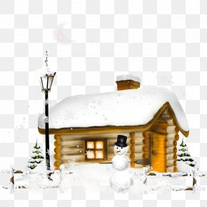 Igloo - Clip Art House Image Winter PNG