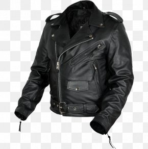Jacket - Leather Jacket Textile Blouson PNG