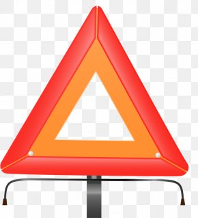 Triangle - Triangle Orange PNG