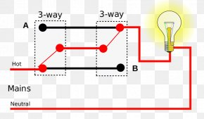 Scientific Circuit Diagram - Light Multiway Switching Electrical Switches Wiring Diagram Electrical Wires & Cable PNG