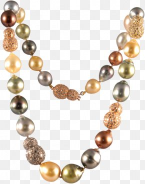 Jewelry - Pearl Necklace Jewellery Gemstone Seashell PNG