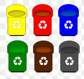 Recycle Bin Cliparts - Paper Recycling Bin Waste Container Clip Art PNG