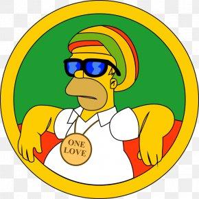 Rastafari Homer Simpson ImageSimpson Cannabis - Reggae PNG