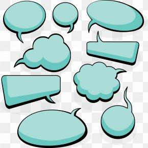 Simple Blank Dialog Box Vector Material - Dialogue Speech Balloon Euclidean Vector PNG