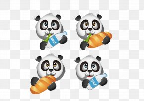 Baby Panda - Giant Panda Bear Photography Illustration PNG