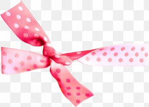 Pink Bow Pattern - Paper Textile Pattern PNG