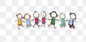 Cartoon Child Row - Cartoon Child PNG