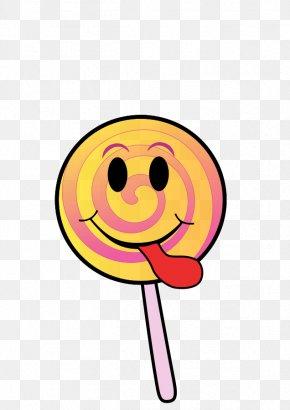 Tongue Smiley - Lollipop Candy Blog Clip Art PNG