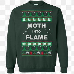 T-shirt - T-shirt Hoodie Sweater Christmas Sleeve PNG