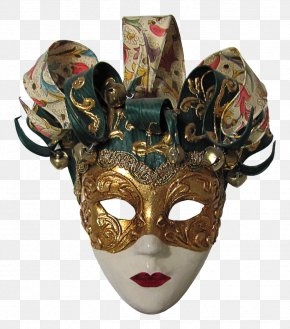 Mask Clipart - Carnival Of Venice Mask PNG