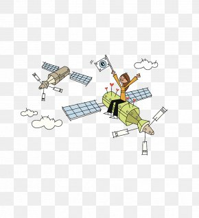 Space Travel - Satellite Imagery Outer Space Communications Satellite PNG