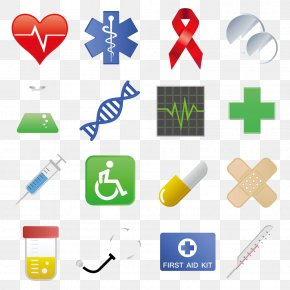 Vector Medical Icon Design - Medicine Icon Design Health Care Icon PNG