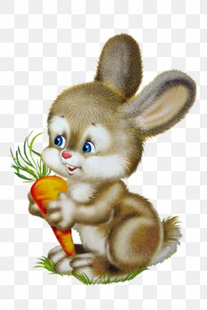 Cartoon Bunny - Birthday Son Parent Holiday Child PNG