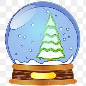 Christmas Tree Tree - Christmas Snow Globe PNG