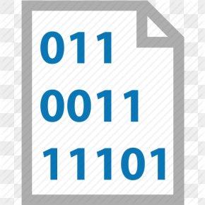 Binary Icon Code File - Document Binary File Binary Code PNG