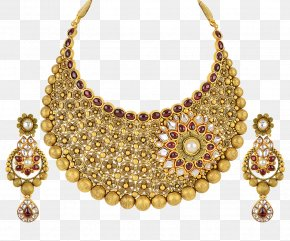 Jewellery - Earring Jewellery Necklace Gold Pearl PNG