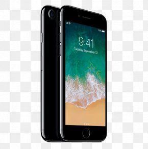 Boost Mobile - IPhone X Apple Jet Black IPhone 6S Smartphone PNG