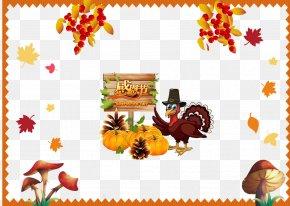 Free Thanksgiving Turkey Pumpkin Buckle Material - Turkey Thanksgiving Day Pumpkin Clip Art PNG
