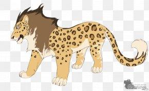 Cheetah - Cheetah Lion Leopard Liger Felidae PNG