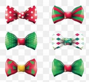 Christmas Tie - Bow Tie Necktie Christmas PNG