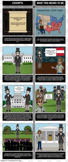 United States - Emancipation Proclamation American Civil War United States PNG