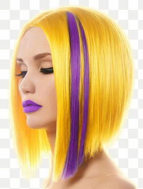 Blonde Hair - Hairstyle Hair Coloring Beauty Cosmetics PNG