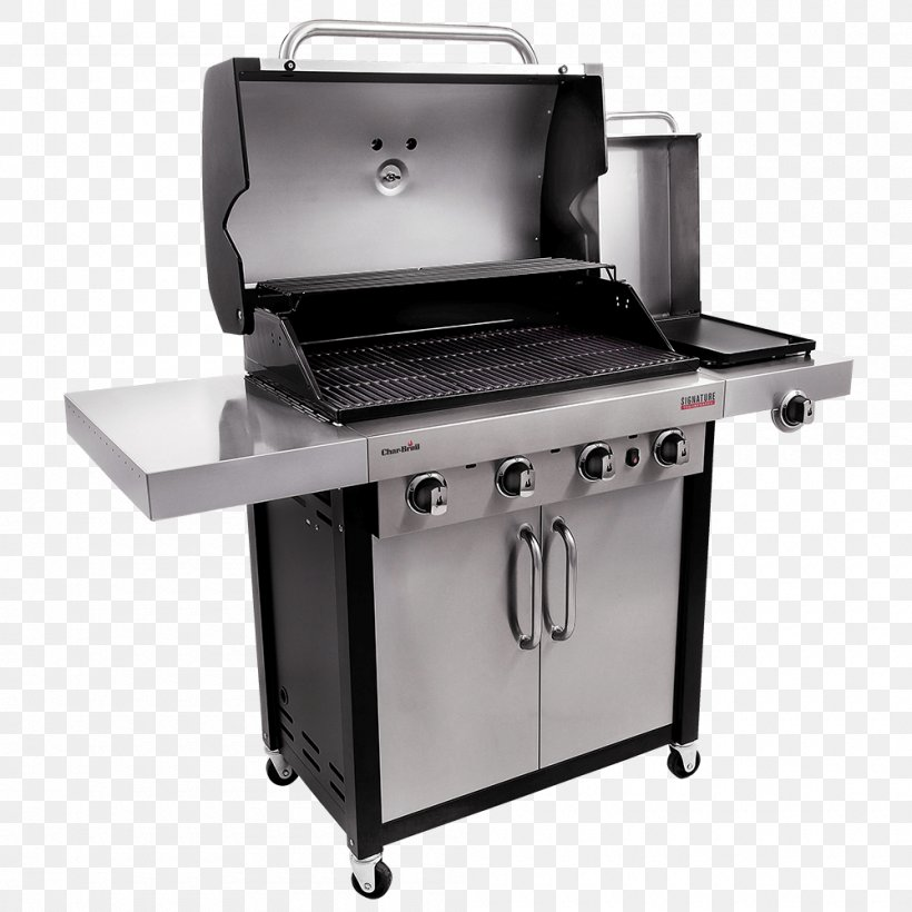 Barbecue Char-Broil Signature 4 Burner Gas Grill Grilling Char-Broil Performance 4 Burner Gas Grill, PNG, 1000x1000px, Barbecue, Charbroil, Charbroil Gas Grill, Charbroil Performance 463376017, Charbroil Truinfrared 463633316 Download Free