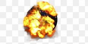 Planet Explosion - Earth Planet Icon PNG