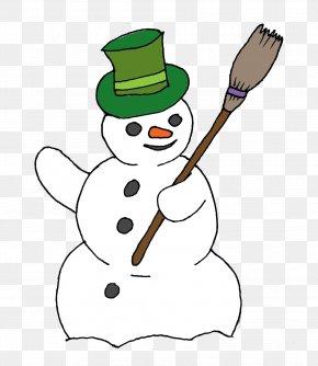 Snowman Cliparts - Snowman Broom Clip Art PNG